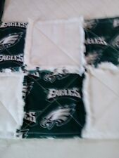 NFL PHILADELPHIA EAGLES RAGGEDY SECURITY BLANKET WITH PACIFIER