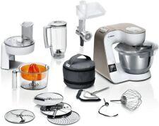 BOSCH Küchenmaschine MUM5XW40 MUM5, integrierte Waage, Profi-Patisserie-Set, Dur