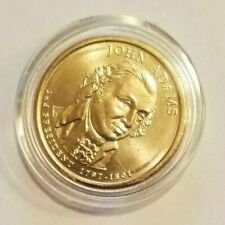 2007-D John Adams Presidential Dollar $1 Gold Coin Uncirculated Proof Quality