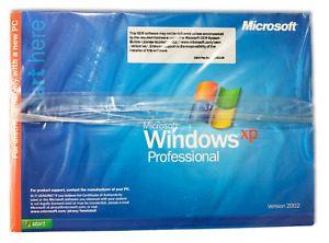 Microsoft Windows XP Professional Complete Operational System Disk Brand New