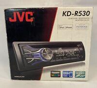 JVC KD-R530 CD AM/FM Car Audio Receiver