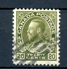 Canada Used #119  King George V Admiral Issue 20c 1925 J091