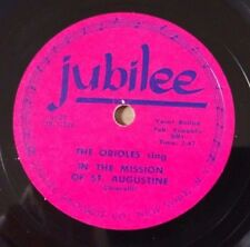 ORIOLES on JUBILEE 5127 - In The Mission of St. Augustine - Doo-Wop 78 EE-