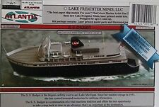 S.S. Badger Great Lakes Coal Fired Ferry Boat Paper Model Atlantis Toy & Hobby