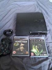 Sony PlayStation 3 Slim CECH-3003A 160GB Console -  Charcoal Black