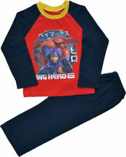 Pyjamas rouge pour garçon de 10 ans