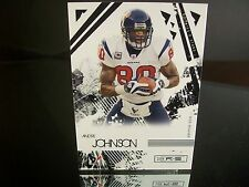 Andre Johnson Donruss 2009 Card #38 Houston Texans NFL Football