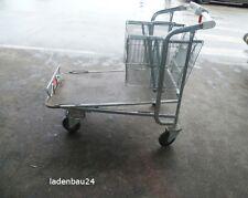 Caddie Baumarktwagen, Plattformwagen, Einkaufswagen f. Gartencenter, Kindersitz