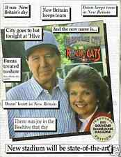 1995 New Britain Red Sox vs Trenton Program--Nomar--Suppan
