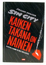 Sin City Kaiken Takana on Nainen A Dame to Kill For Frank Miller HC Graphic Book