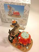 Trinket Box Ornament 87//143 No Peeking Charming Tails Fitz /& Floyd