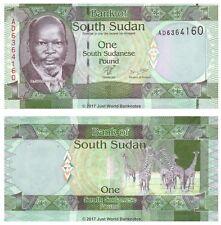 South Sudan 1 Pound 2011 P-5 Banknotes UNC