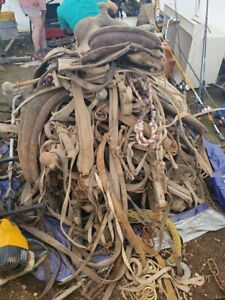used western horse tack lot