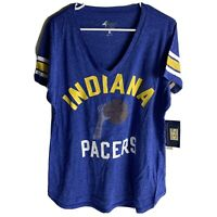GIII 4her by Carl Banks Indiana Pacers The Big Game Tee Shirt Womens XL Blue