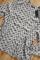 MARC O'POLO wunderschöne Bluse Tunika Gr. 38 neu mit Biesen Beige & Schwarz