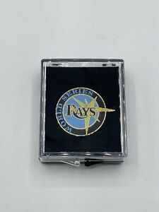 2020 Tampa Bay Rays Official World Series Media Press Pin RARE PIN! LA Dodgers