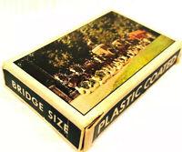 Vintage Souvenir Bridge Cards Busch Gardens Clydesdales Card Deck Complete