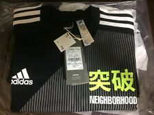 adidas Kachiiro Collection x NEIGHBORHOOD TEE Black T-shirt L Size JAPAN
