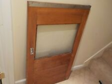 VINTAGE MAHOGANY WOOD CHRIS CRAFT AFT SLIDING CABIN DOOR from 1967 36' CAVALIER
