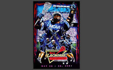 NCAA Lacrosse Championships 2001 OFFICIAL EVENT POSTER - LAST ONE!