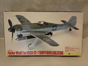 Trimaster 1:48 Focke-Wulf Fw190D-12/Torpedoflugzeug Plastic Model Kit