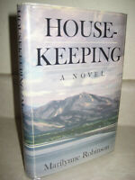HOUSEKEEPING Marilynne Robinson NOVEL 1st Edition First Printing PEN HEMINGWAY