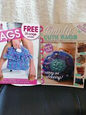 2 books of Hand Bags  Knitting Crochet Pattern