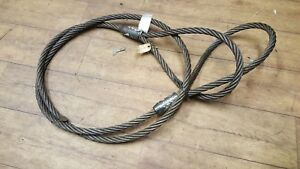 EX MOD, WIRE ROPE RECOVERY SLING CABLE