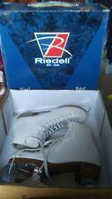 Riedell Model 121 Women's Leather Figure Ice Skates Medium Width Size 4 1/2