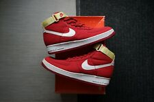 NEW DS Nike Air Force 1 One Vintage 1994 Red 9.5 Canvas CVS Travis Sacai 12 US