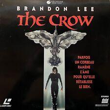 LASERDISC - THE CROW - VF WS - PAL - Brandon Lee