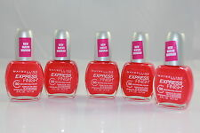 Maybelline Express Finish 50 Second Nail Color - 330 Sunset Prisms (5 PACK)