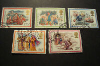 GB 1982 Commemorative Stamps~Christmas~Very Fine Used Set~(ex fdc)UK Seller