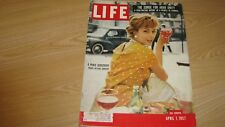 1957  LIFE MAGAZINE APRIL 1 MARIE HELENE ARNAUD  HIGH GRADE LOWEST PRICE ON EBAY