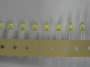 4000 PCS AGILENT HLMP-AL06-PQKDD LED AMBER 5MM OVAL T/H Individual LEDS