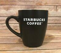 Starbucks Coffee 2008 Black Mug 12 Oz
