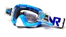 RIP N ROLL MOTOCROSS MX ENDURO GOGGLES HYBRID RnR NEW PACIFIC BLUE