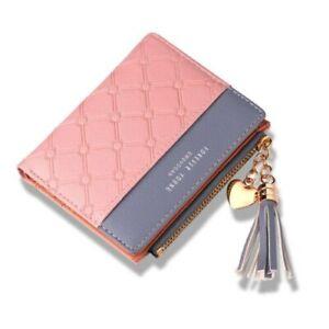 Damen Börse kleine GELDBÖRSE GELDBEUTEL PORTEMONNAIE PORTMONEE Brieftasche mini