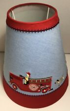 Pottery Barn Kids Fire Engine Lamp Shade New