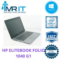 HP EliteBook Folio 1040 G1, Core i7-4600U@2.10GHz, 256GB SSD, 4GB Ram, WIn10 Pro
