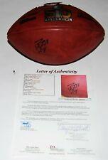 PEYTON MANNING signed (DENVER BRONCOS) Super Bowl 50 NFL game football JSA