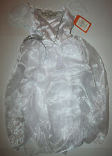 Pottery Barn Kids Halloween White Princess Costume Size 4-6 Yrs. Includes Veil