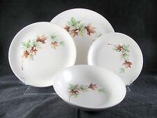Salem Maple Leaf Dinnerware, 16 pc, Svc for 4, plate, bowl, 5 sets avail