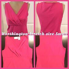 Worthington Stretch Ladies Sleeveless Top Size Small 92% Nylon 8% Spandex EUC!!