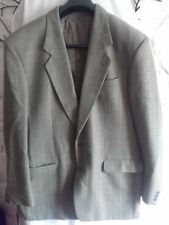 "Vintage ST MICHAEL 100% wool Mens Tweed green blazer/jacket 44"" chest"