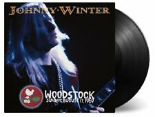 JOHNNY WINTER - WOODSTOCK EXPERIENCE  2 VINYL LP NEW!