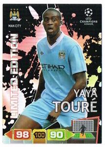 YAYA TOURE - Limited Edition Panini Adrenalyn XL Champions League 2011-12 Card