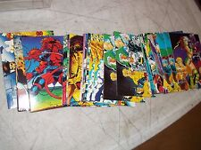 46 1991 MARVEL X-MEN XMEN TRADING CARDS ALL SHARP CORNERS