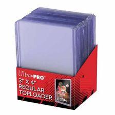 Ultra Pro Regular Flexi Top Loaders Hard Card Sleeves (1-250) Toploaders