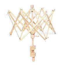 1PC craft parapluie en bois swift fil filature winder support pour écheveau laine boule